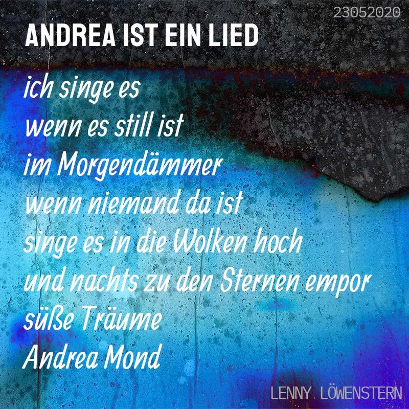 Andrea ist ein Lied (Gedicht)