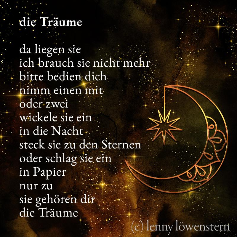 die Träume (Gedicht) 3