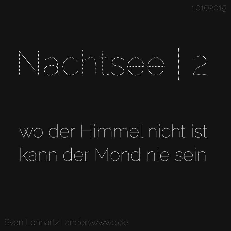 Nachtsee | 2