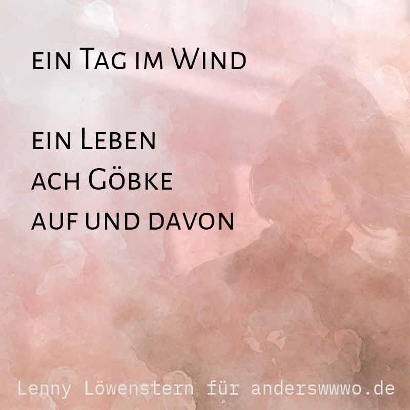 ein Tag im Wind